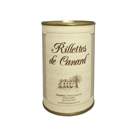 Rillettes pur canard (10...