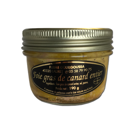 Bocal foie gras 190g (4 parts)