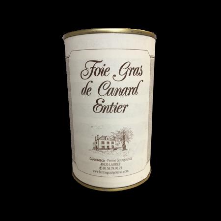 Boîte foie gras 400g (8 parts)