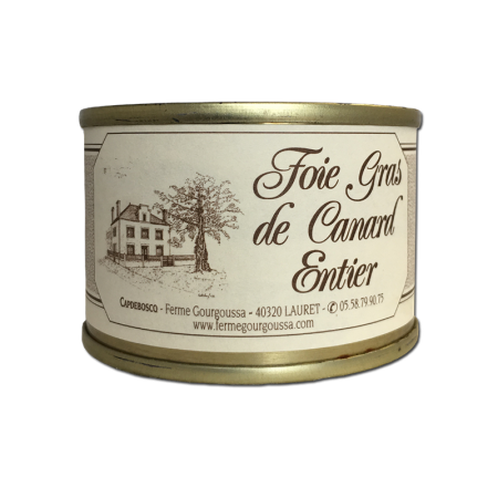 Boîte foie gras 270g (6 parts)