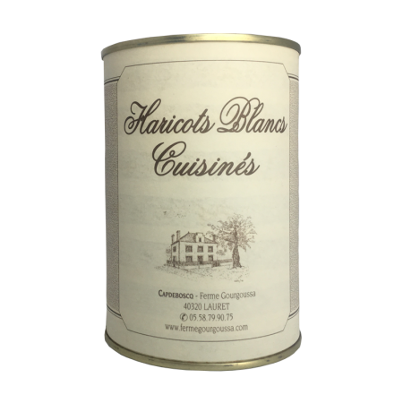 Haricots blancs cuisinés (2...