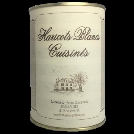 Haricots blancs cuisinés (4...