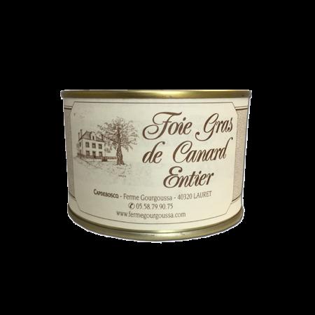 Boîte foie gras 130g (3 parts)